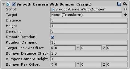 Dialogue System for Unity: Smooth Camera With Bumper