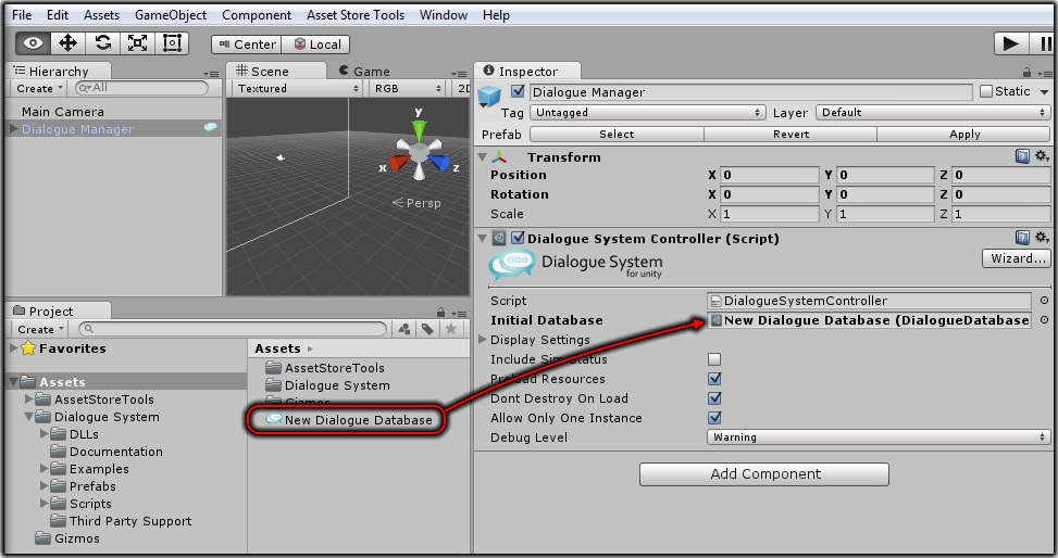 Dialogue System for Unity: How to Get Started