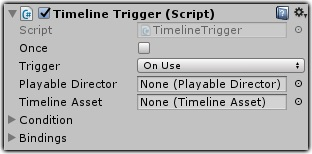 Dialogue System for Unity: Timeline Trigger