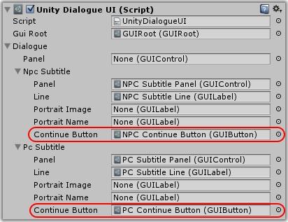 Dialogue System for Unity: Legacy Unity GUI Dialogue UI